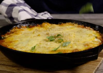 Applewood® Baked Gnocchi with Spinach & Bacon